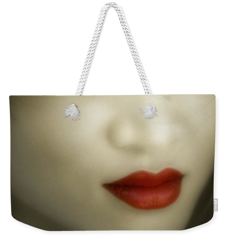 Young Weekender Tote Bag featuring the photograph Judi O1 by Edmund Nagele