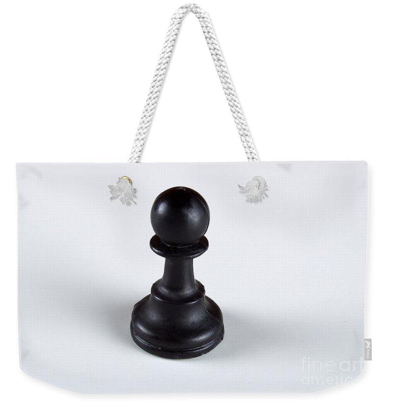 Abstract Weekender Tote Bag featuring the photograph Just A Pawn by Alan Look