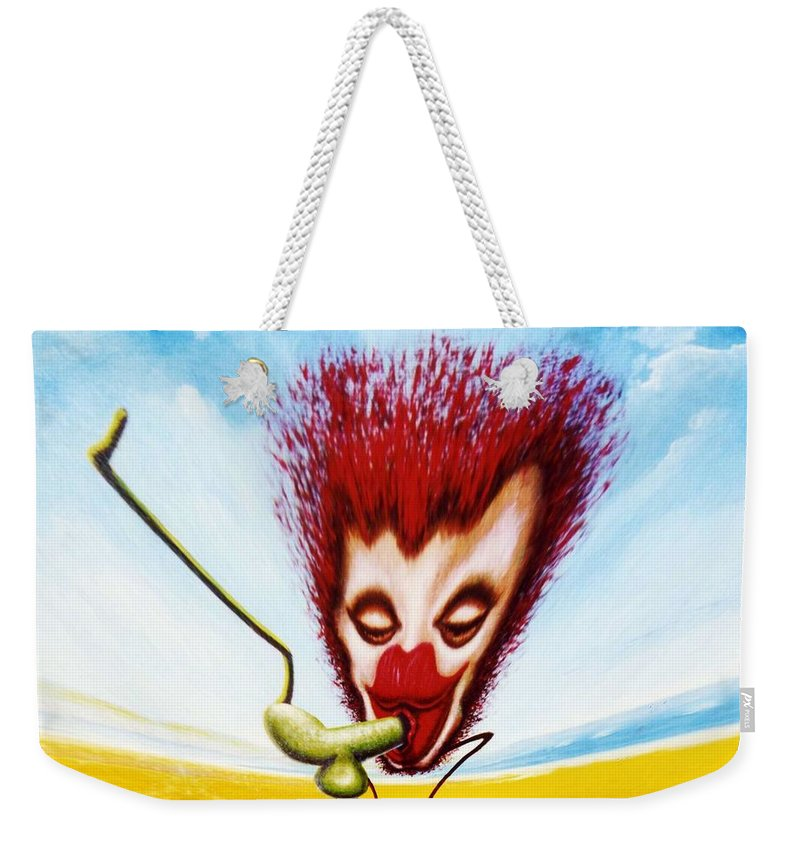Genio Weekender Tote Bag featuring the mixed media Just Gorgeous by Genio GgXpress