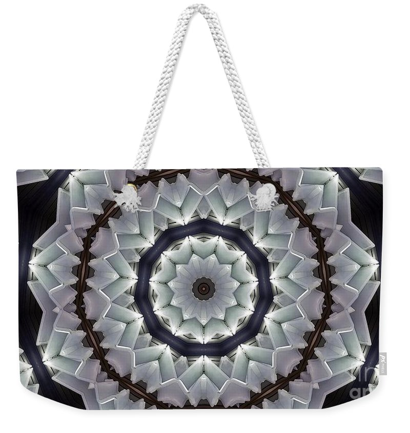 Kaleidoscope Weekender Tote Bag featuring the photograph Kaleidoscope 63 by Ron Bissett