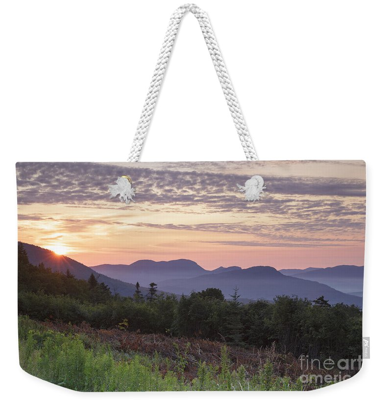 C.l. Graham Wangan Grounds Weekender Tote Bag featuring the photograph Kancamagus Highway - White Mountains New Hampshire USA by Erin Paul Donovan