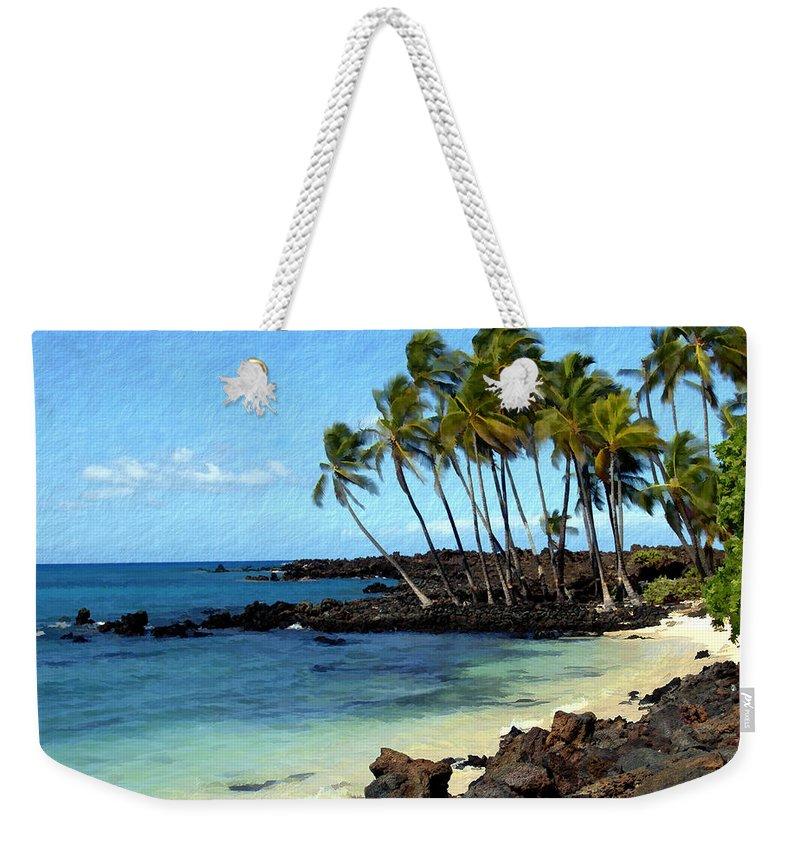 Hawaii Weekender Tote Bag featuring the photograph Kekaha Kai II by Kurt Van Wagner