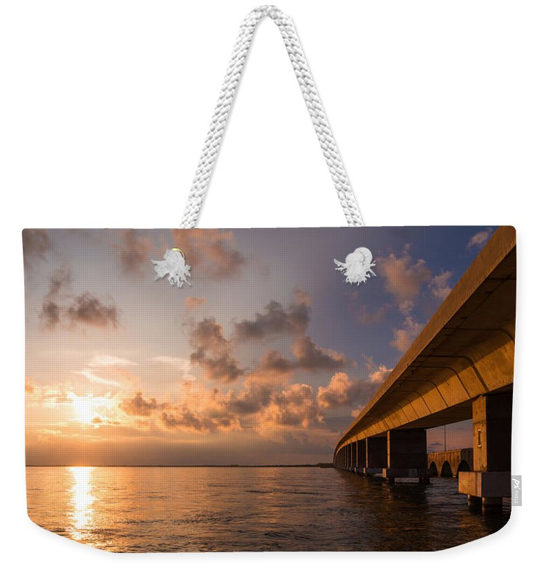 Florida Weekender Tote Bag featuring the photograph Keys by Chad Dutson