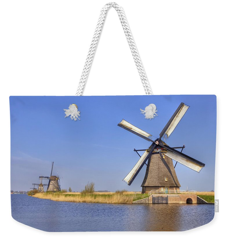 Kinderdijk Weekender Tote Bag featuring the photograph Kinderdijk by Joana Kruse