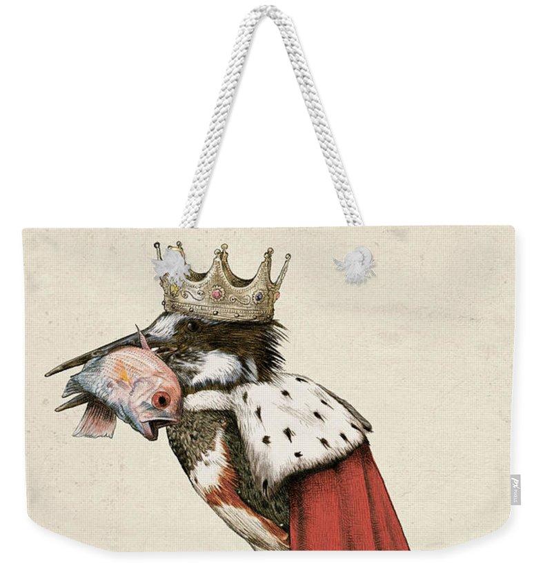 Kingfisher Weekender Tote Bags