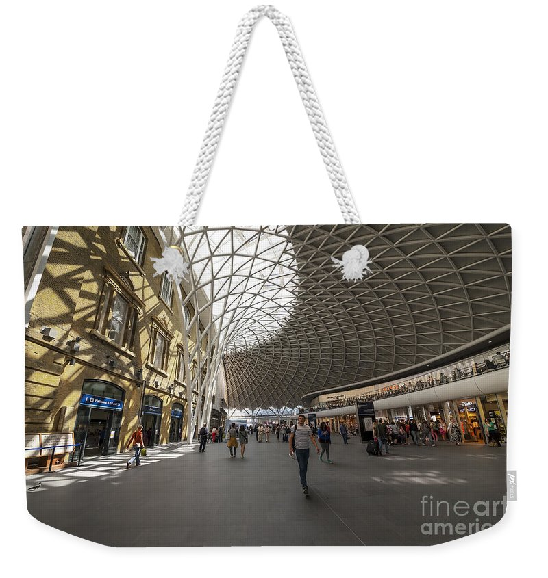 Abstract Weekender Tote Bag featuring the photograph Kings Cross by Svetlana Sewell