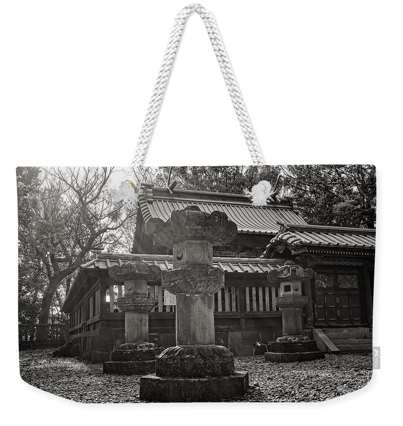 Candy Street Weekender Tote Bag featuring the photograph Kita-in Temple In Kawagoe by For Ninety One Days