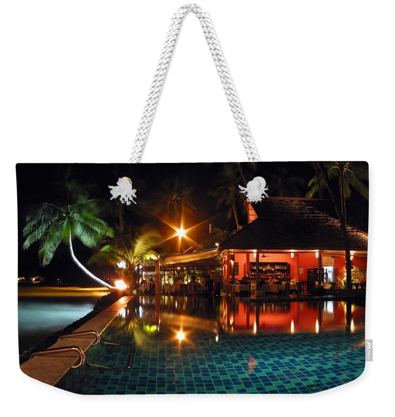 3scape Weekender Tote Bag featuring the photograph Koh Samui Beach Resort by Adam Romanowicz