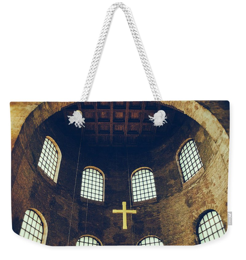 Ade Weekender Tote Bag featuring the photograph Konstantin Basilika by TouTouke A Y