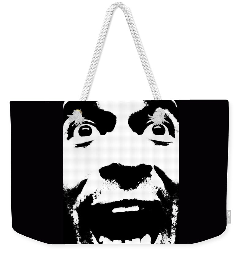 Lmfao Weekender Tote Bag featuring the photograph Emoji by M Pace
