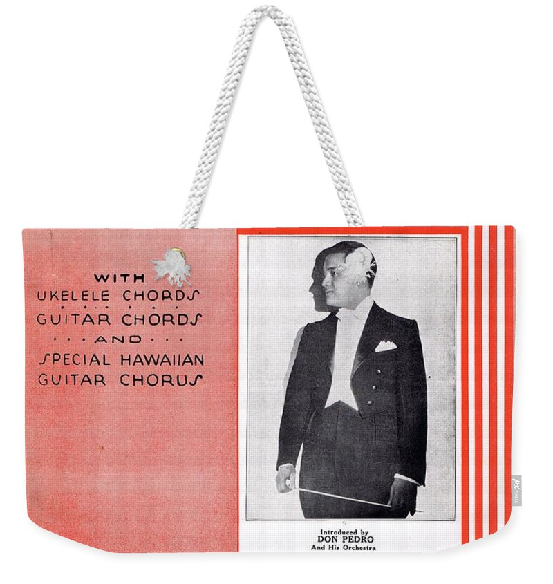 Nostalgia Weekender Tote Bag featuring the photograph La Cucaracha by Mel Thompson