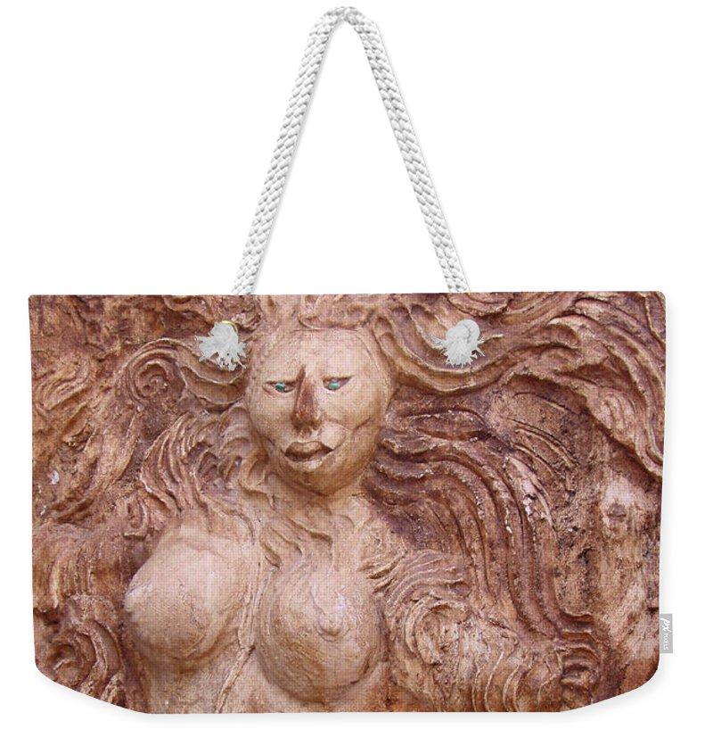 La Diosa Weekender Tote Bag featuring the photograph La Diosa 1 by Ellen Henneke
