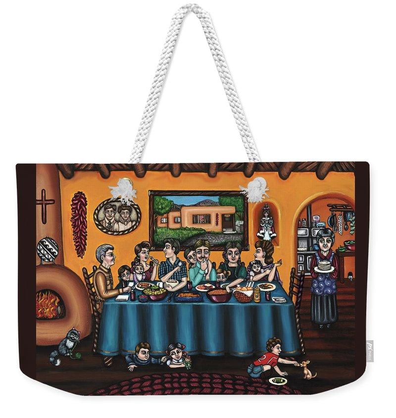 Grandma Weekender Tote Bags
