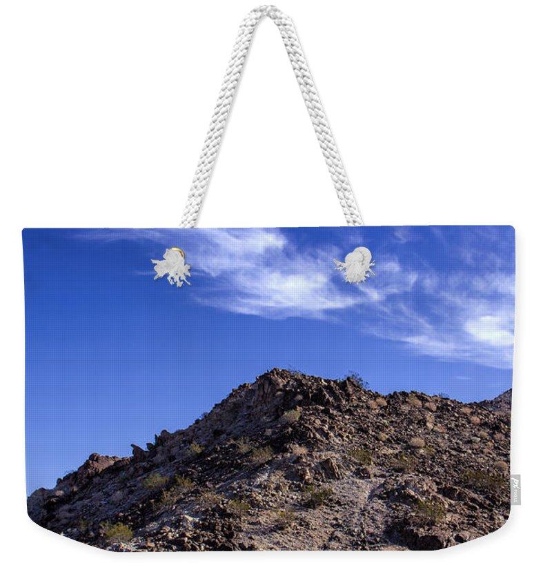 La Quinta Weekender Tote Bag featuring the photograph La Quinta Morning by Dominic Piperata