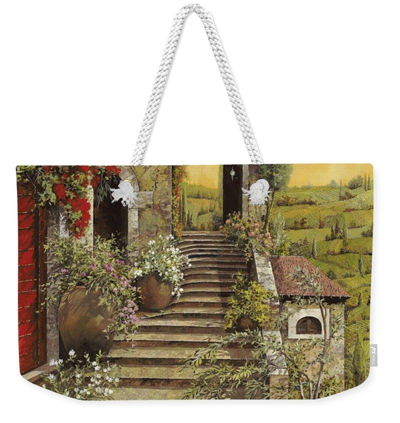 Heaven Weekender Tote Bags