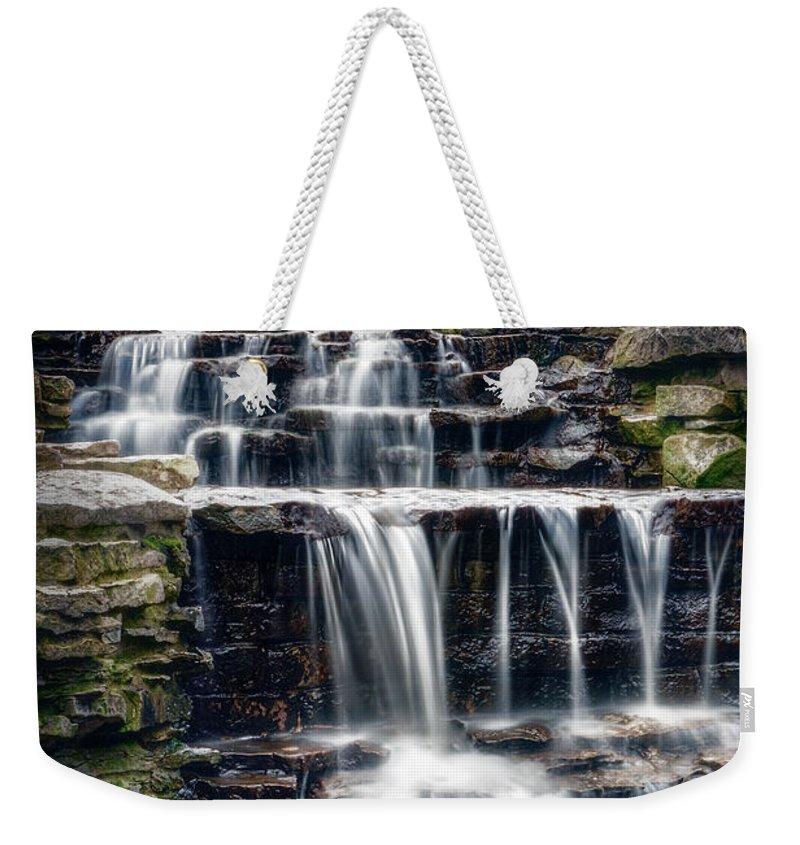 Waterfall Weekender Tote Bags