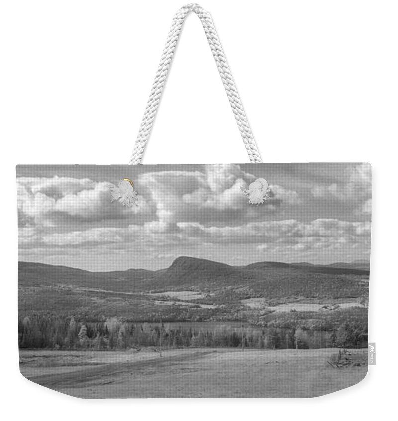 Lake Willoughby Weekender Tote Bag featuring the photograph Lake Willoughby Vermont by Richard Rizzo