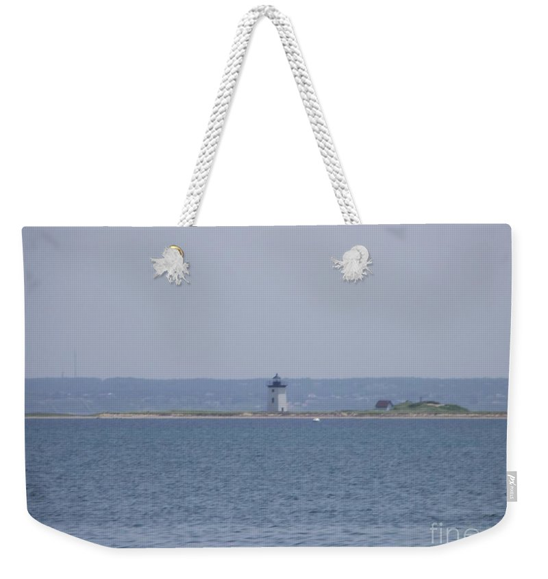 Provincetown Weekender Tote Bag featuring the photograph Land's End by Michelle Welles