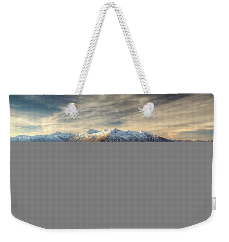 Tranquility Weekender Tote Bag featuring the photograph Landscape Of Wanaka by Joao Inacio