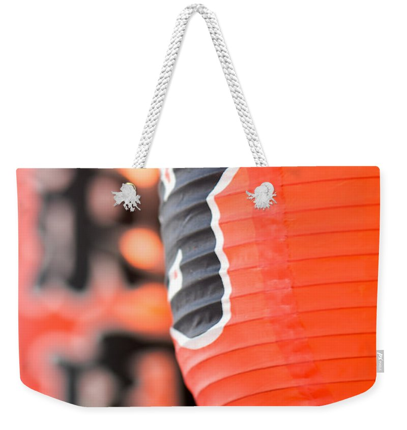 Lanterns Weekender Tote Bag featuring the photograph Lanterns by Lisa Knechtel