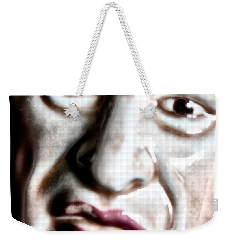 Larry Weekender Tote Bag featuring the photograph Larry by Bill Cannon