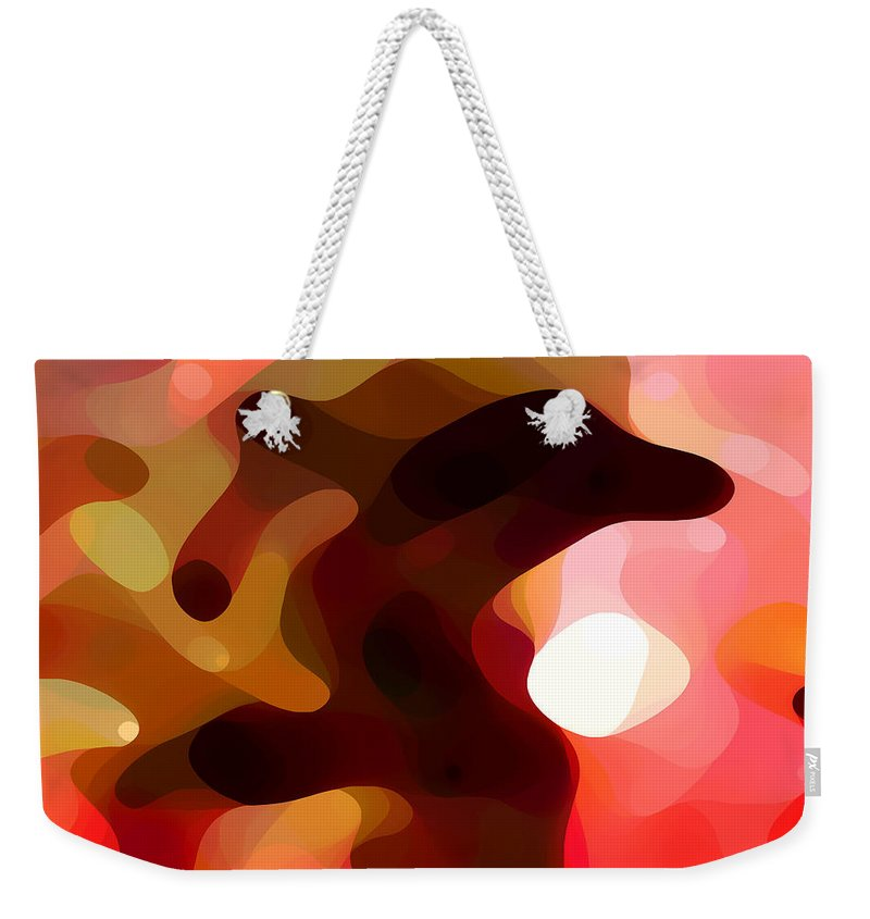 Bold Weekender Tote Bag featuring the painting Las Tunas by Amy Vangsgard