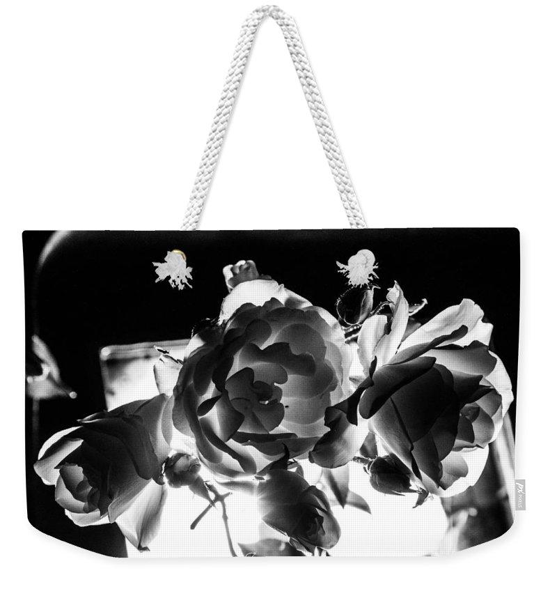 Las Vegas Weekender Tote Bag featuring the photograph Las Vegas Flowers by Angus Hooper Iii