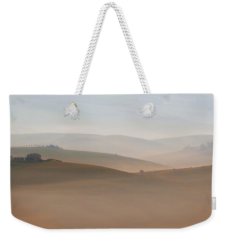 Landscape Weekender Tote Bag featuring the photograph Lazy Morning by Jaroslaw Blaminsky