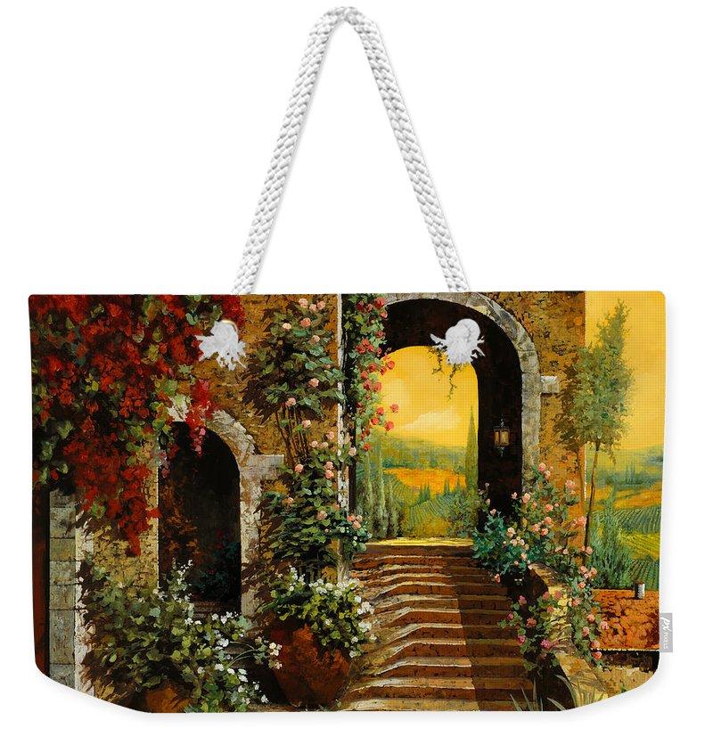 Arch Weekender Tote Bags
