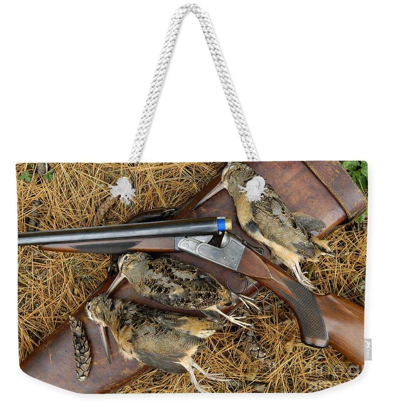 Woodcock Weekender Tote Bags