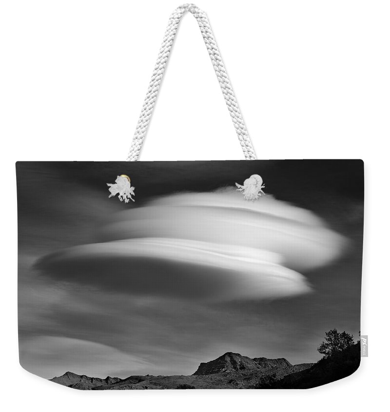Photography Weekender Tote Bag featuring the photograph Lenticular Over Alcazaba 3315 Meters by Guido Montanes Castillo