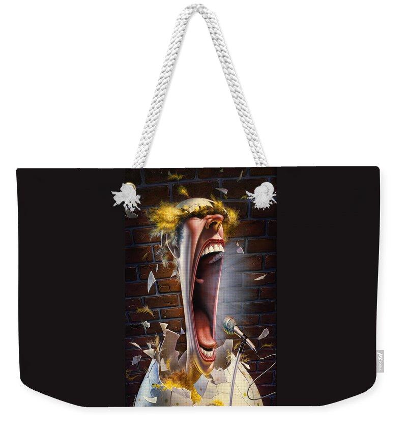 Johnny Carson Weekender Tote Bags