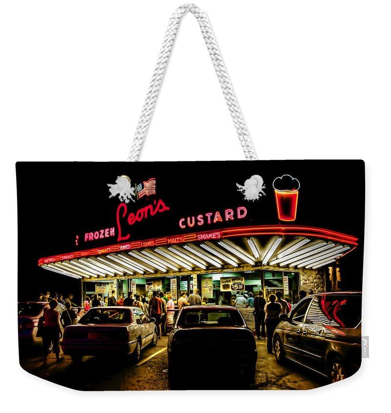 Glow Weekender Tote Bags