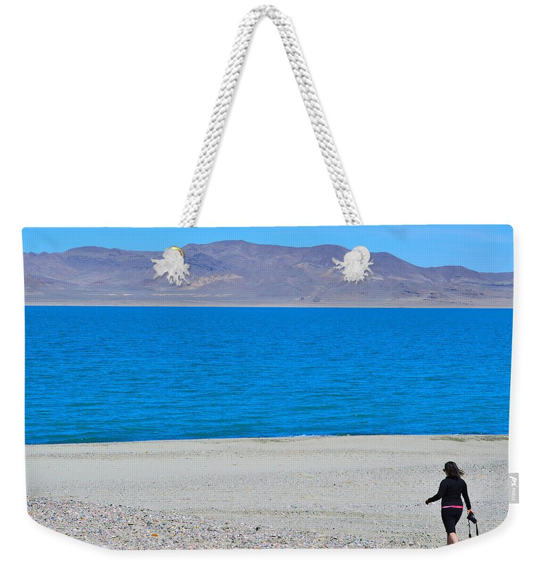 Photo Weekender Tote Bag featuring the photograph Let's Take A Picture by Brent Dolliver