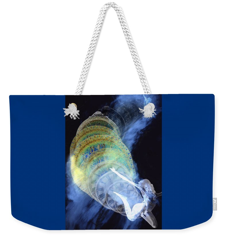 Life Cycle Weekender Tote Bag featuring the digital art Life Cycle by Lisa Yount