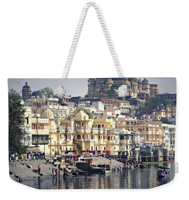 India Weekender Tote Bag featuring the photograph Life Is A Journey by A Rey