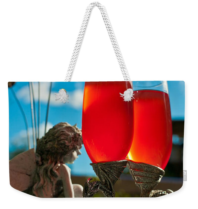 Vertical Weekender Tote Bag featuring the photograph Life Is Beautiful by Eti Reid