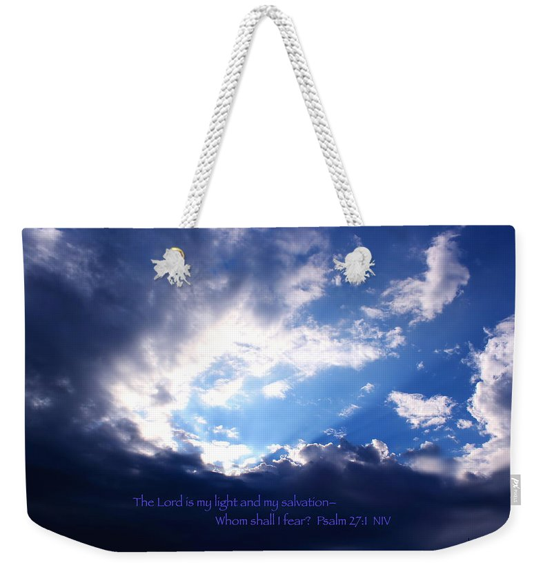 Light Weekender Tote Bag featuring the photograph Light II by Kume Bryant