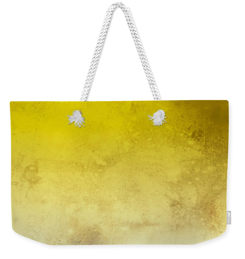 Abstract Weekender Tote Bag featuring the digital art Light by Peter Tellone