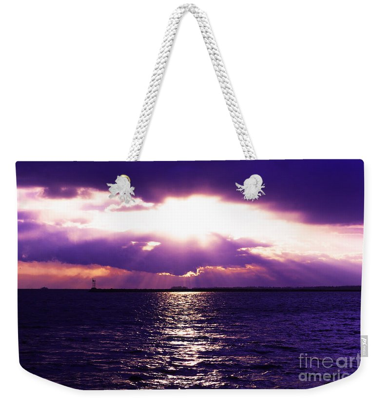 Sun Weekender Tote Bag featuring the photograph Light Therapy by Joe Geraci