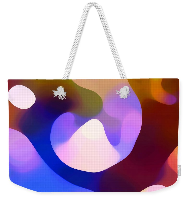 Weekender Tote Bag featuring the painting Light Through Branch by Amy Vangsgard