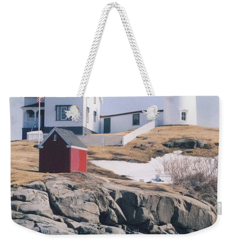 Lighthouse Weekender Tote Bag featuring the photograph Lighthouse by Jeffery L Bowers