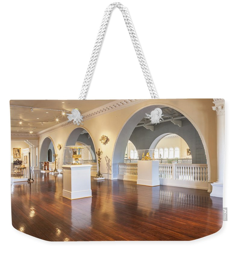 Lightner Museum Weekender Tote Bag featuring the photograph Lightner Museum 7 by Rich Franco