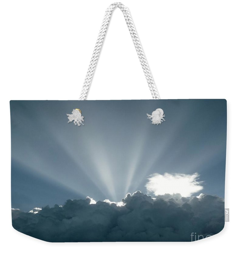 Color Weekender Tote Bag featuring the photograph Lightplay by Amar Sheow