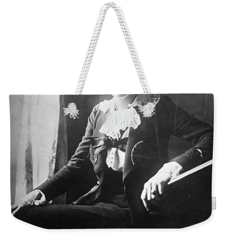 1918 Weekender Tote Bag featuring the photograph Lili Boulanger (1893-1918) by Granger