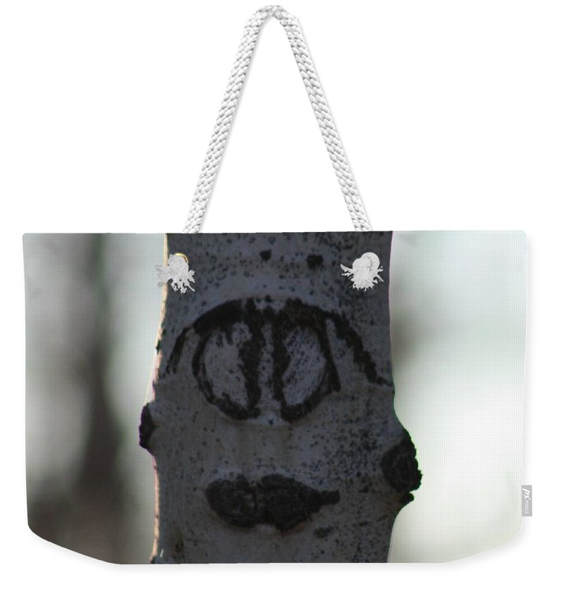 Smiley Faces Weekender Tote Bag featuring the photograph Lips by Brandi Maher