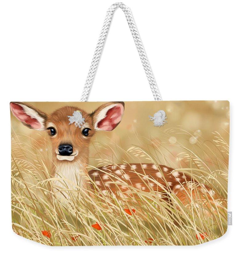 Little Deer Weekender Tote Bags