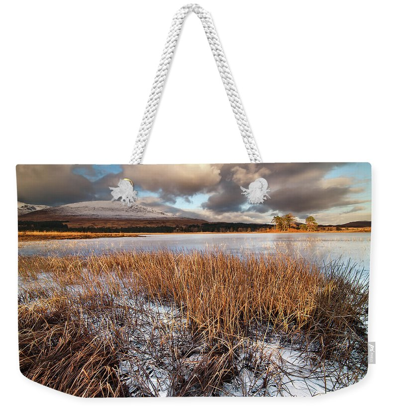 Tranquility Weekender Tote Bag featuring the photograph Loch Tulla by Image By Peter Ribbeck