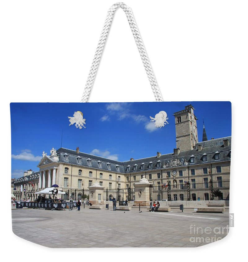 Palace Weekender Tote Bag featuring the photograph Logis Du Roi I - Dijon by Christiane Schulze Art And Photography