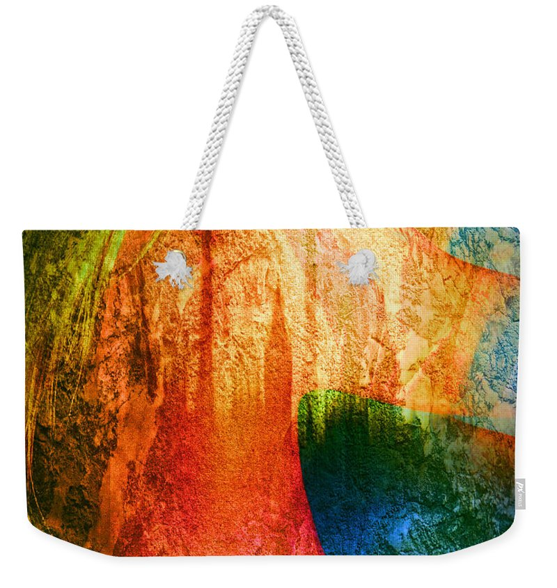 Digital Weekender Tote Bag featuring the photograph London Revisited by Edmund Nagele